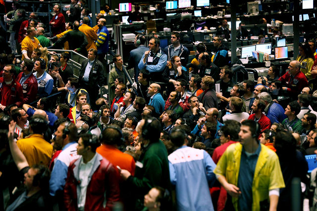 From The Trading Floor To The Screens Trying To Make Sense Of It