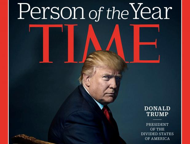 Time Magazine Names U S President Elect Trump Person Of