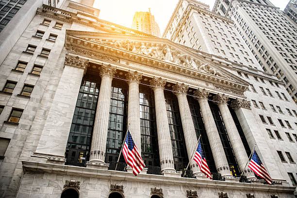 The New York Stock Exchange - the largest stock exchange in the world by market capitalization and the most powerful global financial institute.